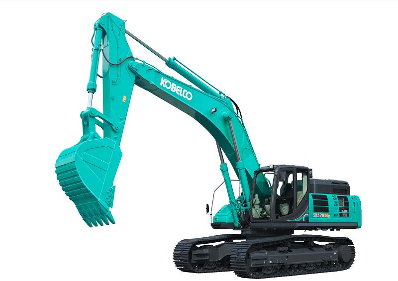 Excavator Kobelco SK520 XDLC  (Dok. Kobelco)yang menyasar sektor tambang.  pasar pertambangan, baik batu bara, tambang mineral maupun quarry.