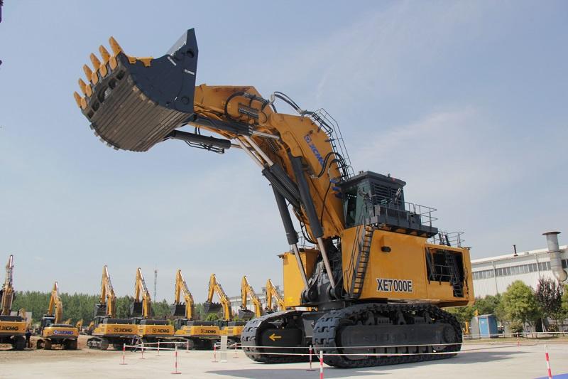 Hydraulic excavator XCMG 700 ton, XE7000E (Dok. EI)