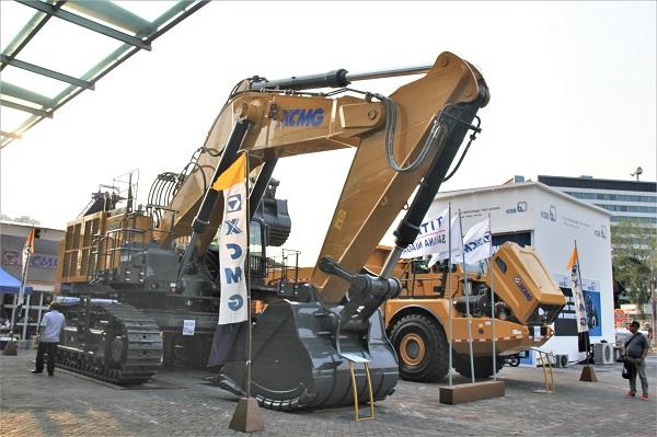 Excavator tambang raksasa XCMG XE1250