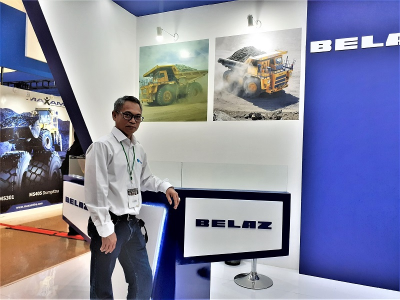 Vavioza, Direktur Blue Bird Heavy Equipment (Dok. EI)