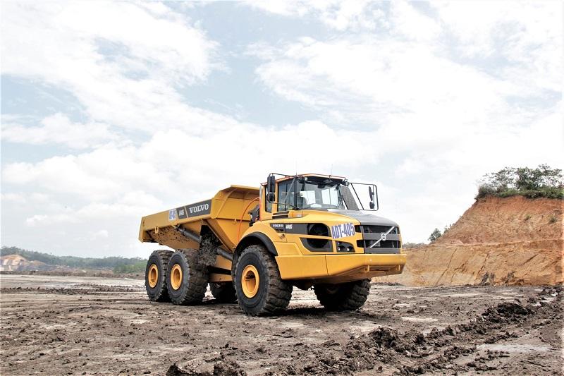 ADT Volvo yang disuplai PT Intraco Penta Tbk kepada salah satu kontraktor tambang batubara di Kalimantan Timur (Dok. EI)