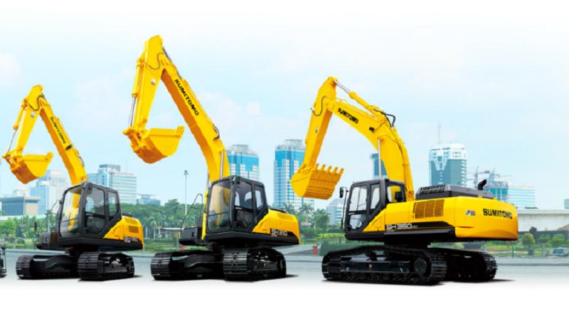 Product line Sumitomo Excavator yang dipasarkan di Indonesia (dok. Sumitomo)