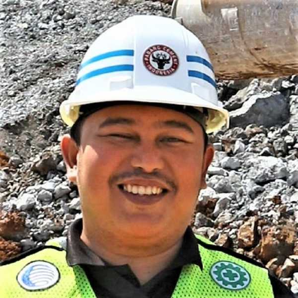 Annas Fadly, territory sales manager, divisi Global Construction & Infrastructure, Caterpillar (Dok. Aggbusiness.com)