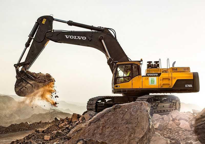 Semua engine Volvo dari Volvo Construction Equipment bisa bekerja dengan diesel yang mengandung 50 persen bio-fuel, setahun lebih cepat dari jadwal yang ditentukan pemerintah (Dok. Volvo CE)
