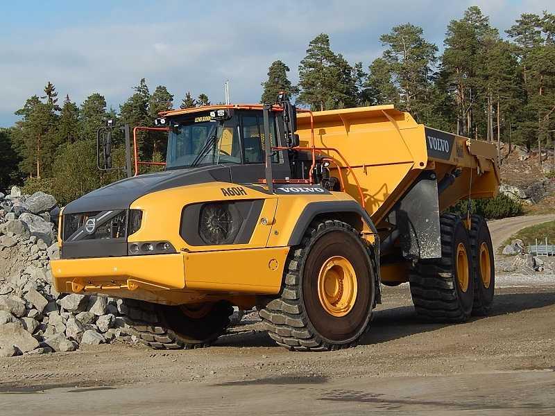 Articulated dump truck Volvo A60H (Dok. EI)