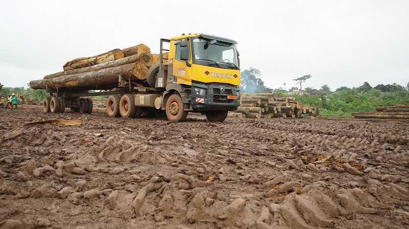 Renault Truck untuk aplikasi logging (Dok. ITR))