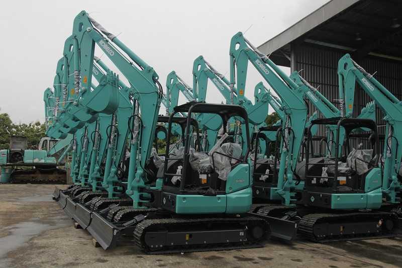 Mini excavators Kobelco SK50P