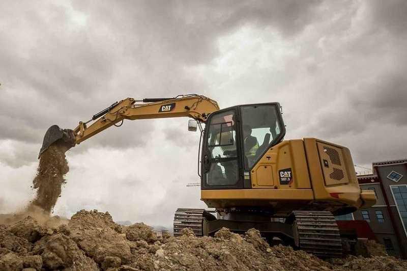 Mini hydraulic excavator CAT 307.5 Next Generation (Dok. CAT)