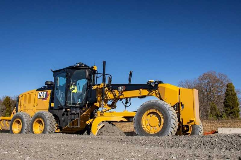 Motor  grader Cat 150 AWD MG (DOk. Cat)