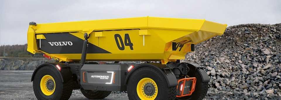 Alat angkut otonom bertenaga listrik Volvo, TA15 (Foto: autonomous electric hauler)