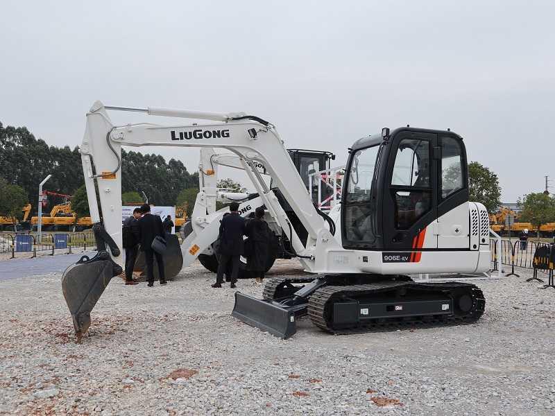 Excavator listrik LiuGong kelas 6 ton, 906E-EV