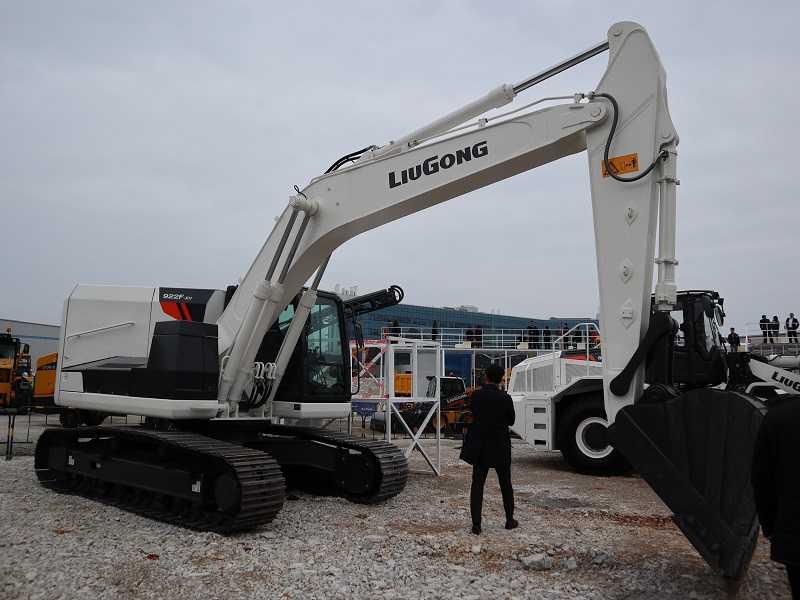 Excavator listrik LiuGong kelas 22 ton, 922F-EV (FOto: EI)