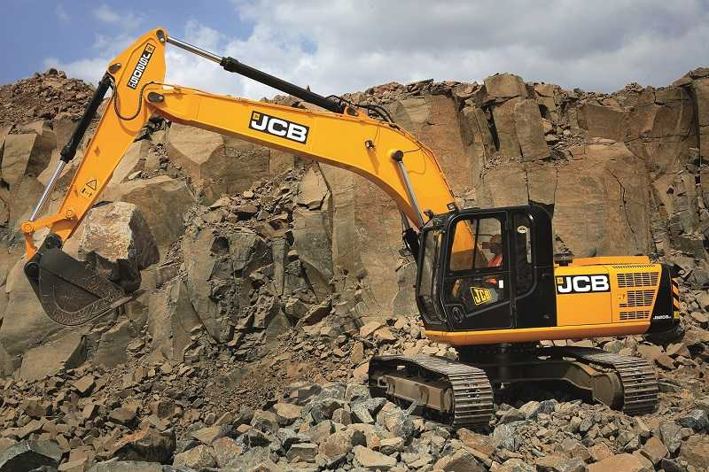 Hydraulic excavator JCB JS205LC