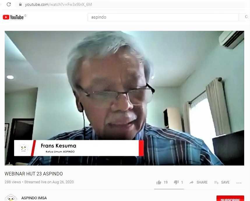 FRans Kesuma, Ketua ASPINDO