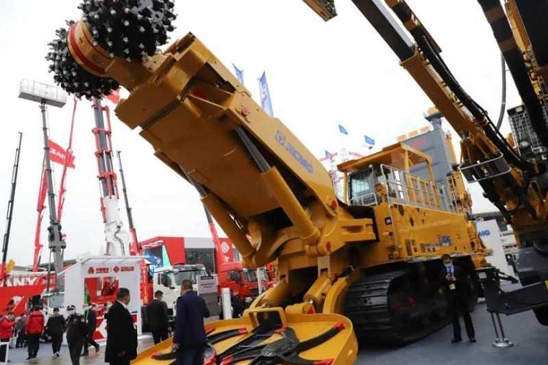 Roadheader terbesar untuk aplikasi tambang dan  pembuatan terowongan, XTR8/500 (Foto: seetao.com)