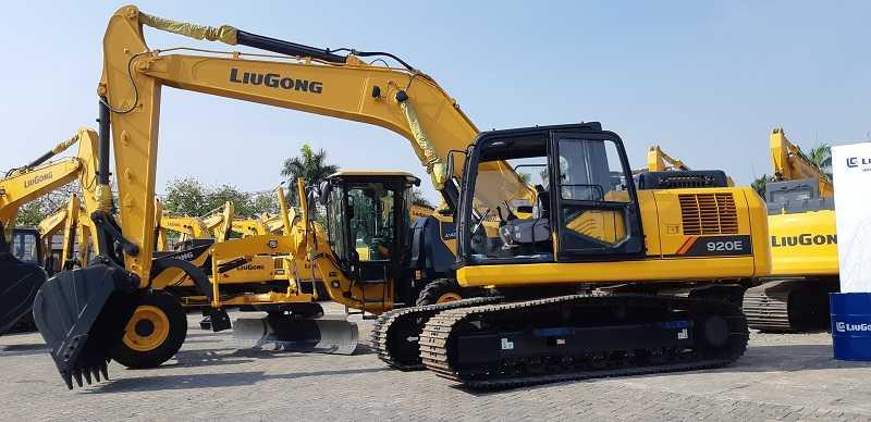 Hydraulic excavator LiuGing (Foto: EI)