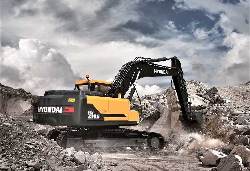 Excavator Hyundai HX 210S (Kredit Foto: UniQuip)