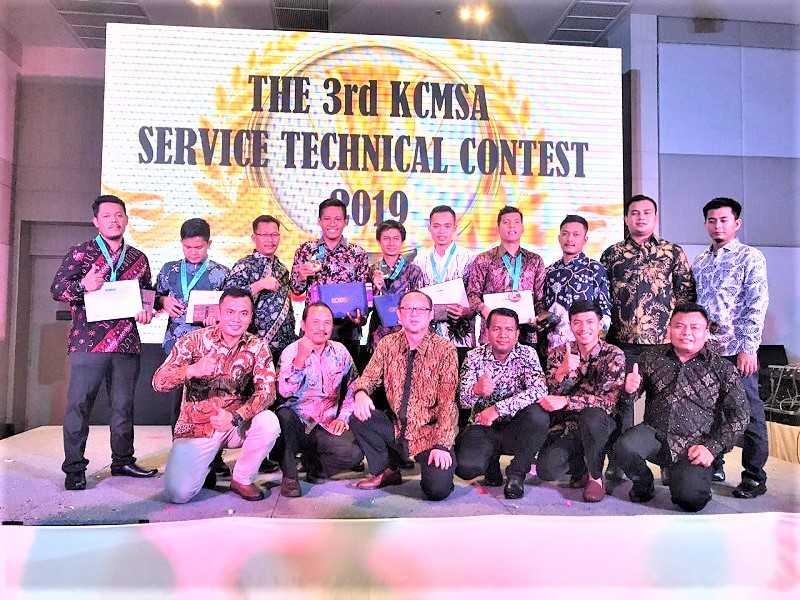Kontes Mekanik Asia di KCMSA Thailand (Dok. DKCMI)
